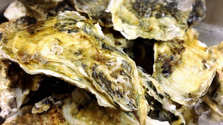 牡蠣のおいしい季節です