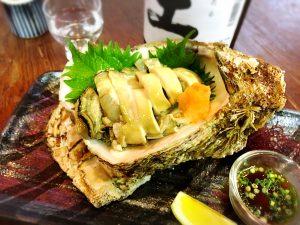 岩牡蠣 造り 刺身